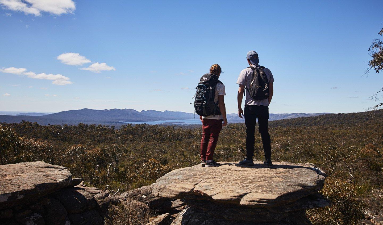 De Grampians uit het boek Australië: een reis door het zuiden van Lisanna Weston namens Dutchies Travel